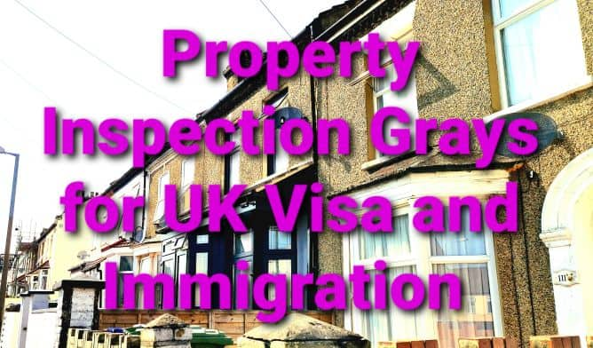 Immigration Property Inspection Report Grays, Essex